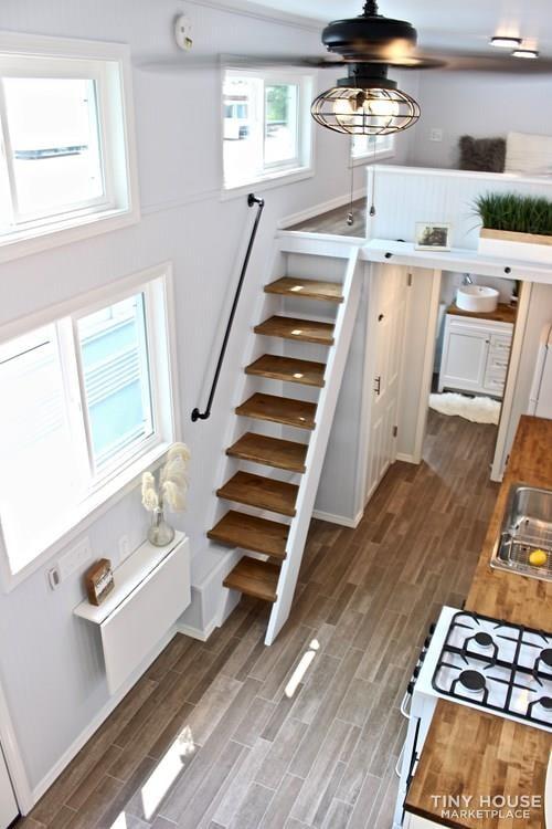 30' Humble Shack Tiny House on Wheels - Slide 67