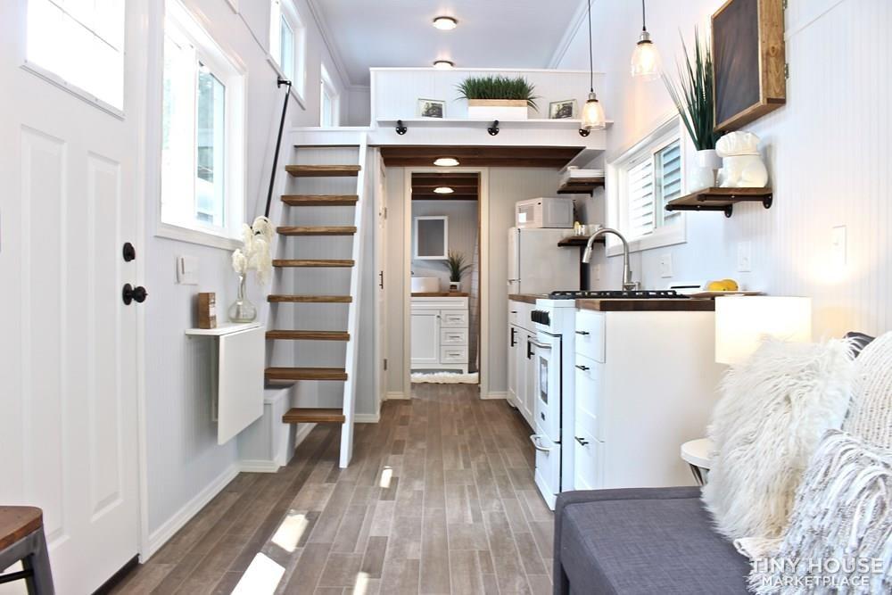 30' Humble Shack Tiny House on Wheels - Slide 73