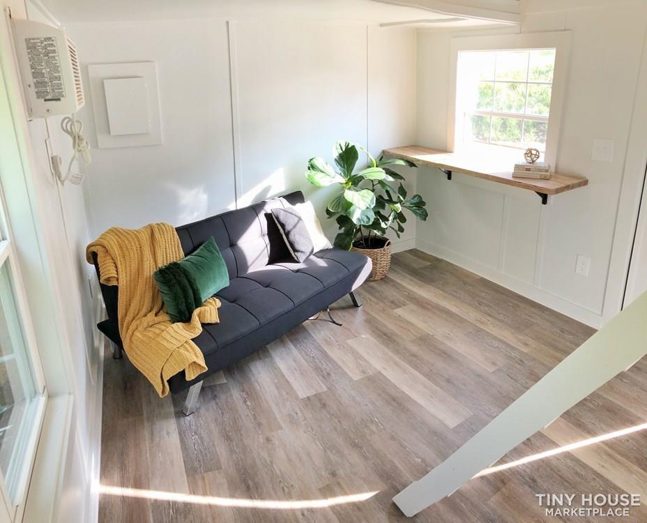 320 sqft Shed Conversion – Tiny House - Slide 1