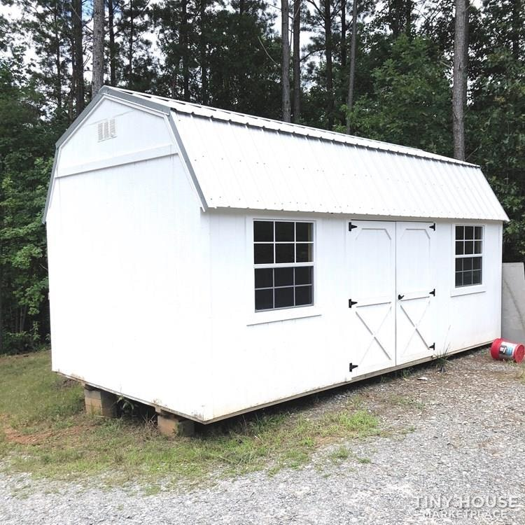 320 sqft Shed Conversion – Tiny House - Slide 2