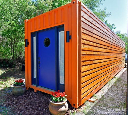 325 Sq Ft   40 foot Shipping Container Home