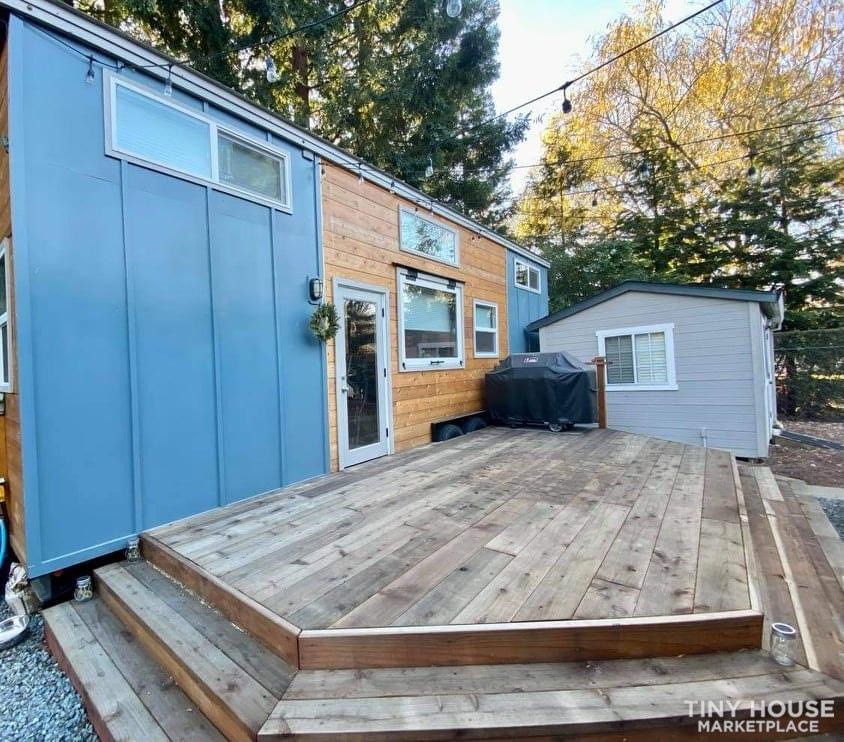 34' Dream Luxury Tiny Home/Tiny House on Wheels - Slide 1