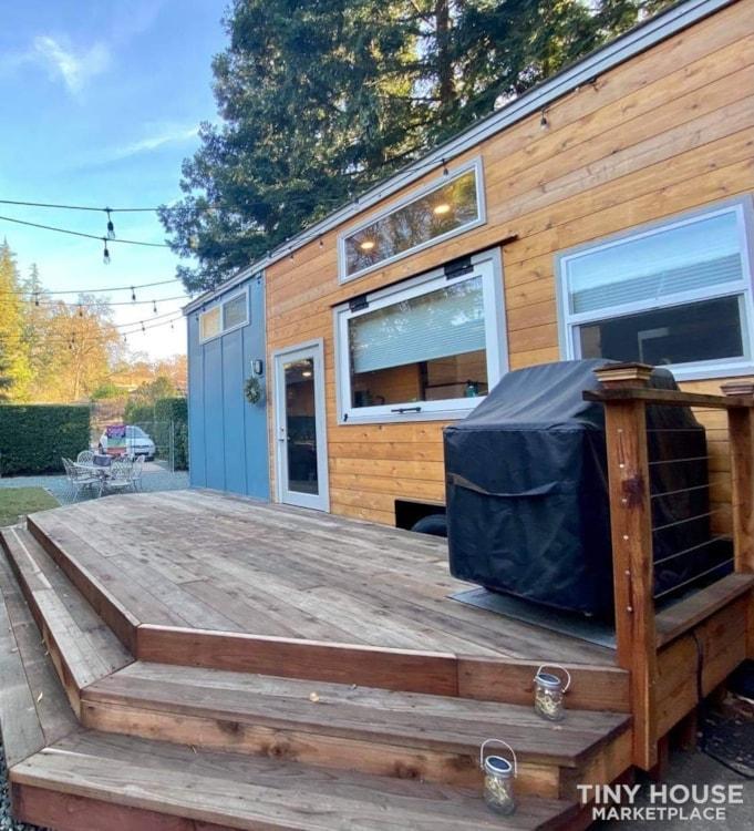34' Dream Luxury Tiny Home/Tiny House on Wheels - Slide 2