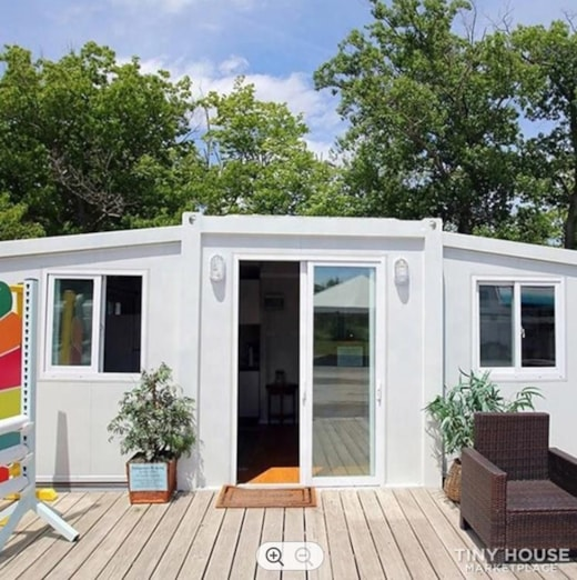 350 sf Expandable 2BR 1BA Insulated House