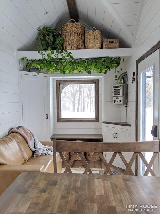 36' Luxury Modern Tiny House on Wheels - Slide 2