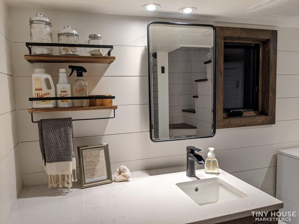 36' Luxury Modern Tiny House on Wheels - Slide 3