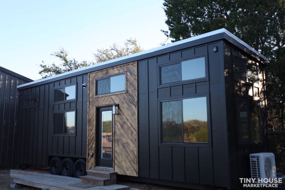 36' Modern Cabin - Nomad Tiny Homes - New - Dual loft - 21k trailer - Warranty - Slide 1