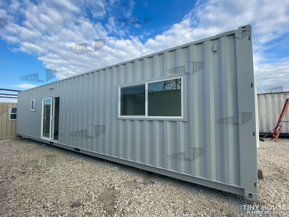 """40 ft Container - """"The Alpine"""" Model - Slide 1"""
