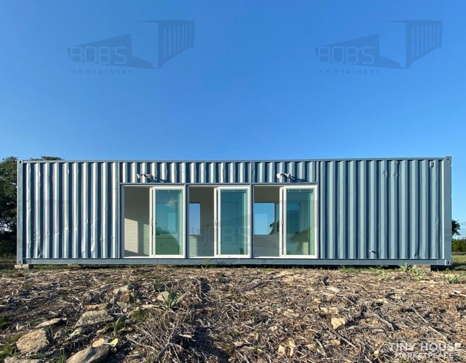 "40 ft Container - ""The Cedar"" Model - Slide 1"