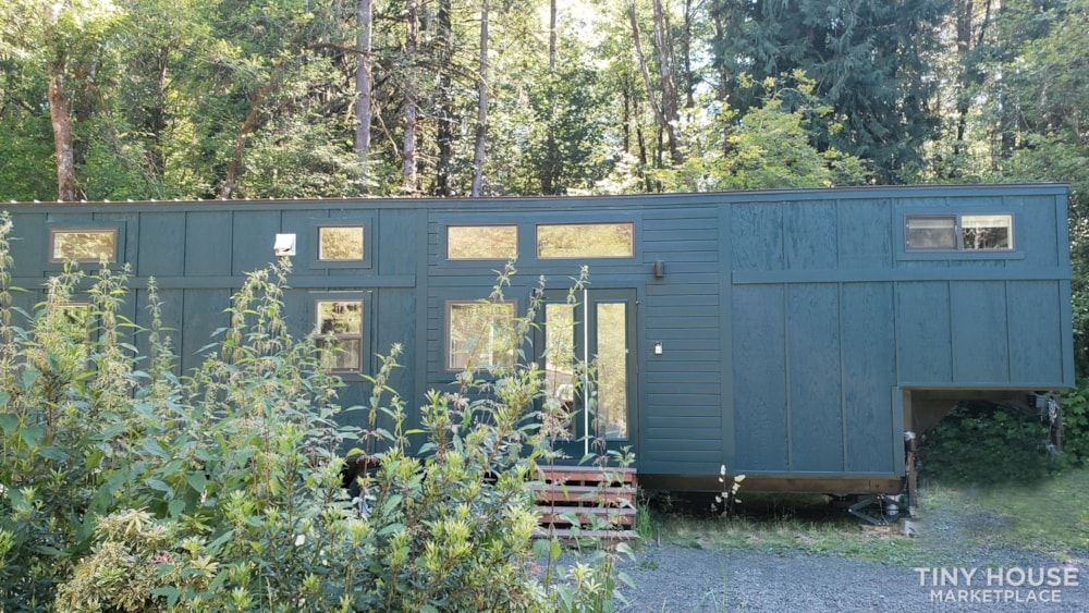 42' Tiny House on Wheels, Optional Parking Spot on 15 Acres in Olympia, WA  - Slide 2