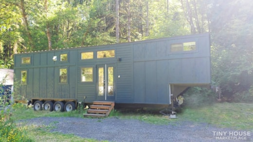 ***SOLD*** 42' Tiny House on Wheels, Optional Parking Spot in Olympia, WA
