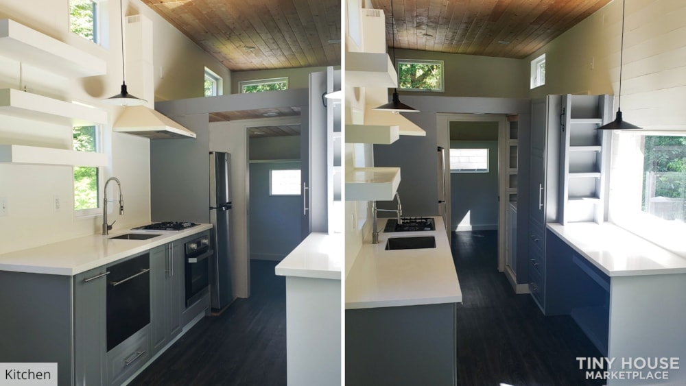42' Tiny House on Wheels, Optional Parking Spot on 15 Acres in Olympia, WA  - Slide 12