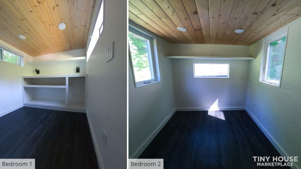 42' Tiny House on Wheels, Optional Parking Spot on 15 Acres in Olympia, WA  - Slide 14