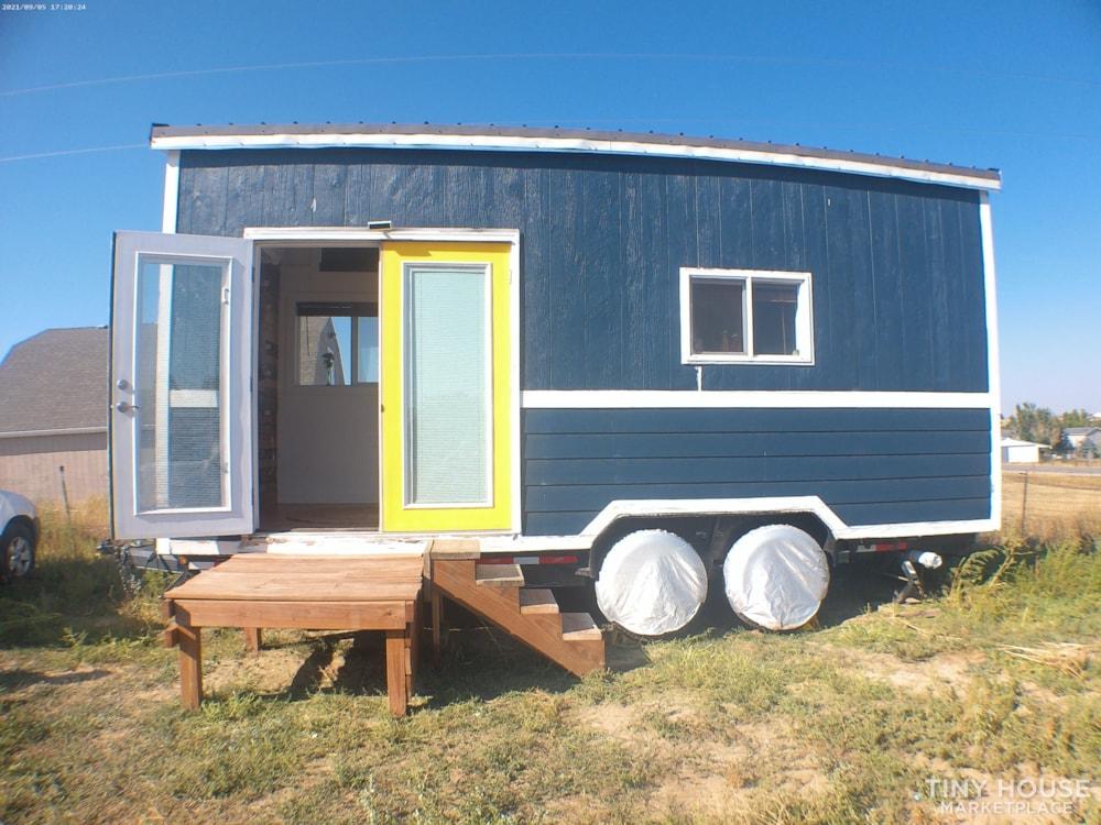 8' X 20' Tiny Home on Wheels - Slide 1