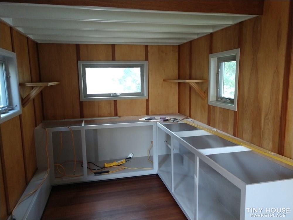 8x16 Tiny House on Professionally-built Galvanized trailer - Slide 3