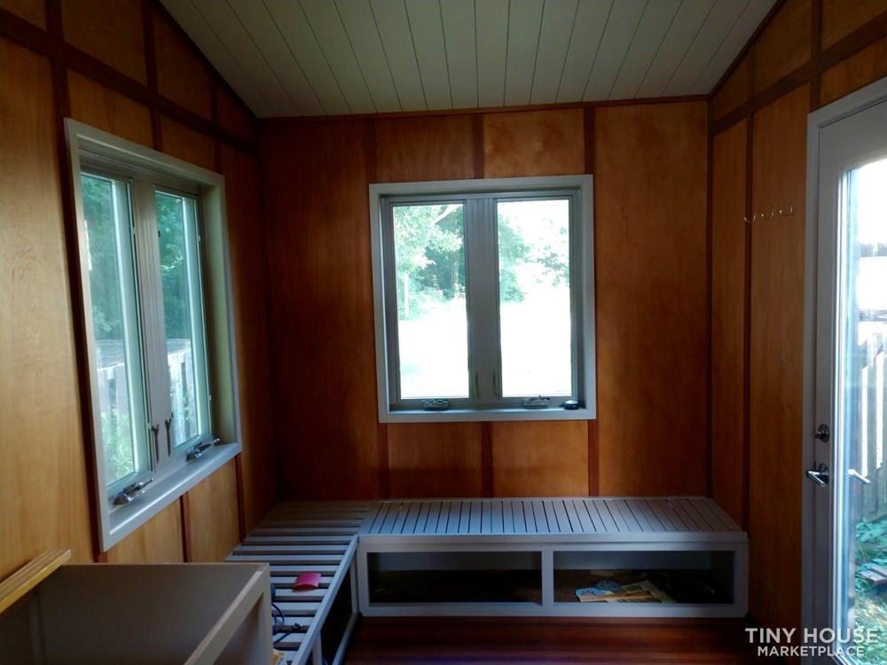 8x16 Tiny House on Professionally-built Galvanized trailer - Slide 4