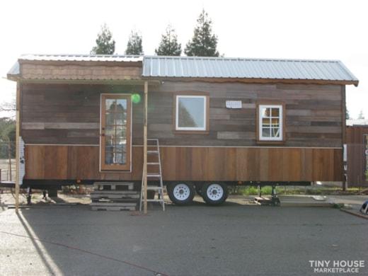 Beautiful Non-Toxic Tiny Home on Wheels Partially Built