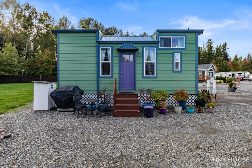Beautifully Unique, Fully Licensed, Tiny House For Sale! - Slide 1