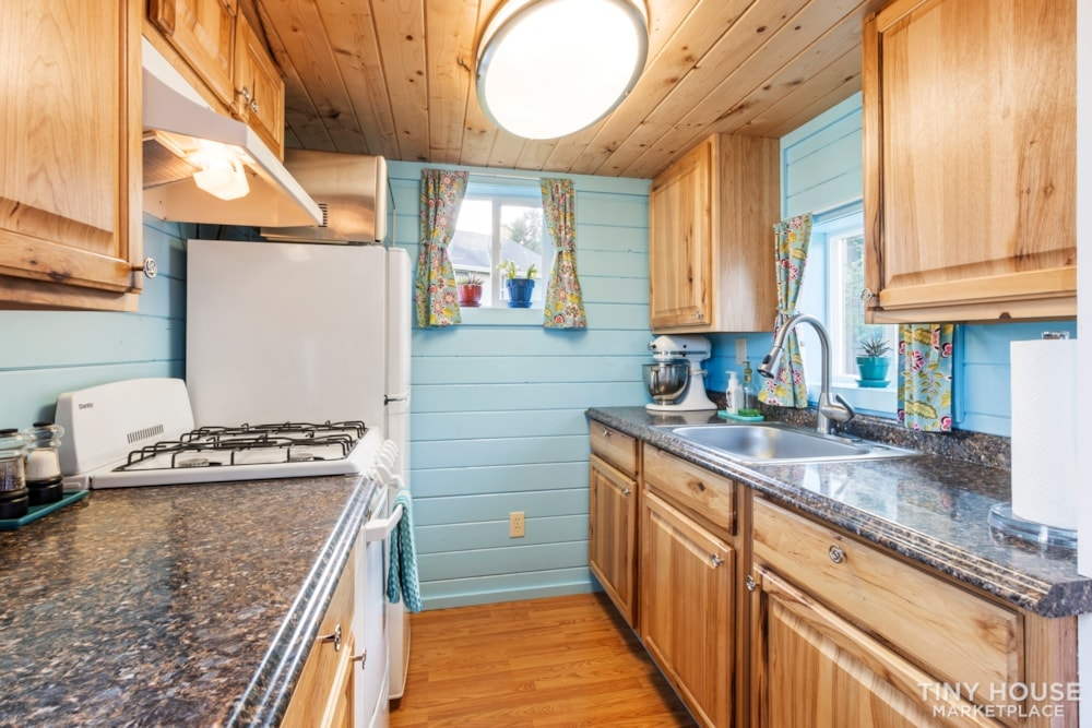 Beautifully Unique, Fully Licensed, Tiny House For Sale! - Slide 2