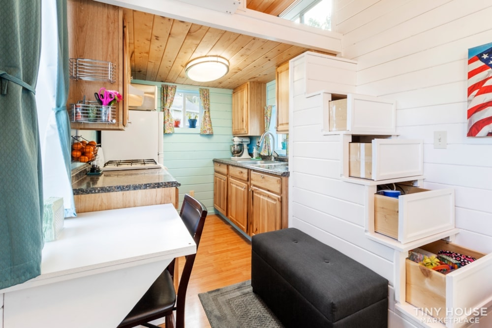 Beautifully Unique, Fully Licensed, Tiny House For Sale! - Slide 3