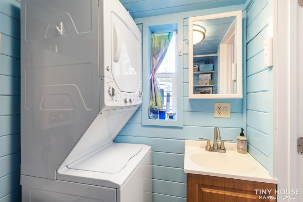 Beautifully Unique, Fully Licensed, Tiny House For Sale! - Slide 8