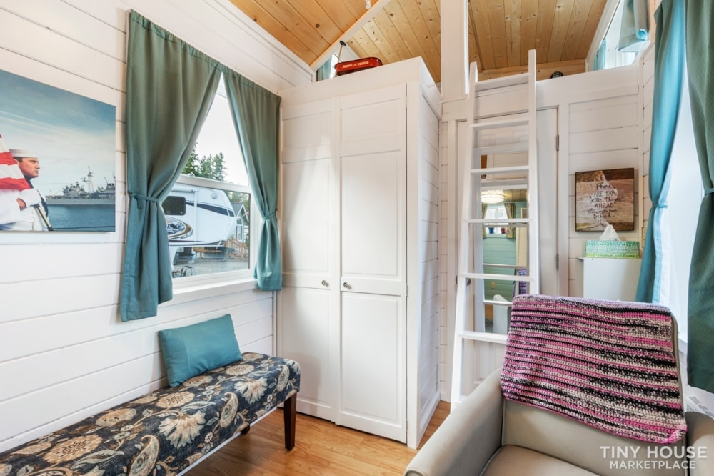 Beautifully Unique, Fully Licensed, Tiny House For Sale! - Slide 9