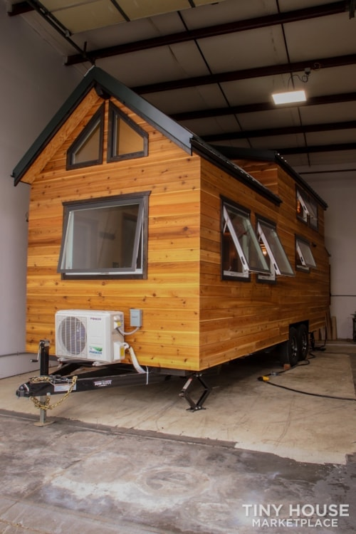 SOLD!! BRAND NEW 24' Tiny House 'The Aspen' by Wilding Woodworks Tiny Homes - Slide 28