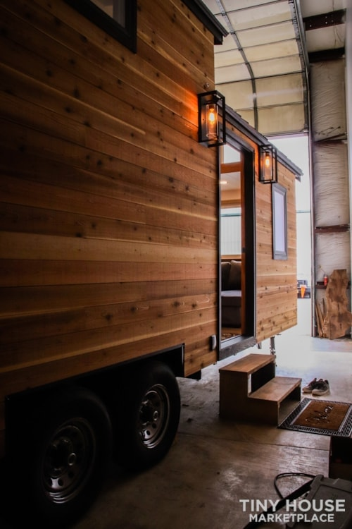 SOLD!! BRAND NEW 24' Tiny House 'The Aspen' by Wilding Woodworks Tiny Homes - Slide 29