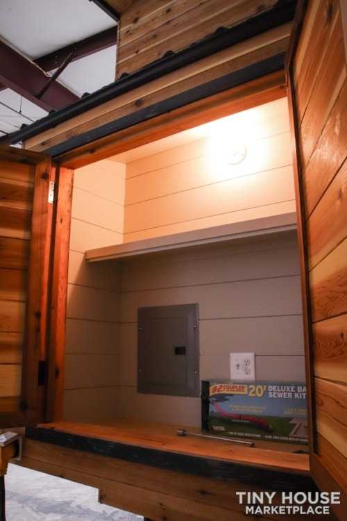 SOLD!! BRAND NEW 24' Tiny House 'The Aspen' by Wilding Woodworks Tiny Homes - Slide 30