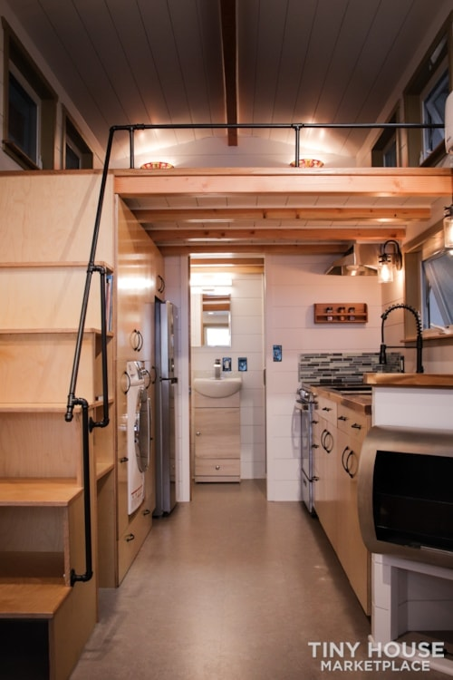 SOLD!! BRAND NEW 24' Tiny House 'The Aspen' by Wilding Woodworks Tiny Homes - Slide 31