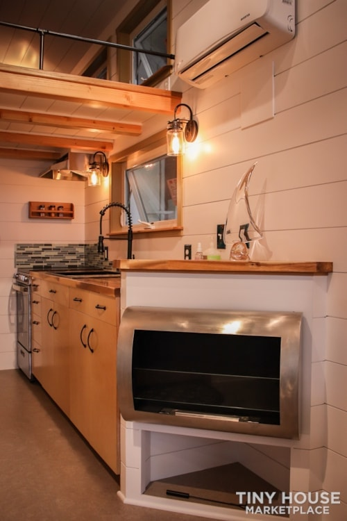 SOLD!! BRAND NEW 24' Tiny House 'The Aspen' by Wilding Woodworks Tiny Homes - Slide 32