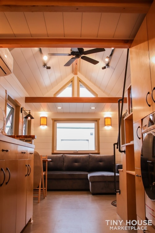 SOLD!! BRAND NEW 24' Tiny House 'The Aspen' by Wilding Woodworks Tiny Homes - Slide 34