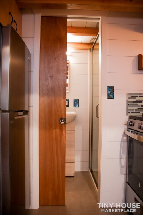 SOLD!! BRAND NEW 24' Tiny House 'The Aspen' by Wilding Woodworks Tiny Homes - Slide 35