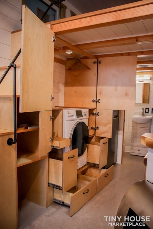 SOLD!! BRAND NEW 24' Tiny House 'The Aspen' by Wilding Woodworks Tiny Homes - Slide 41