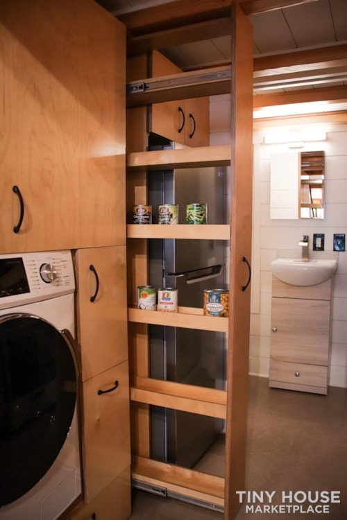 SOLD!! BRAND NEW 24' Tiny House 'The Aspen' by Wilding Woodworks Tiny Homes - Slide 43
