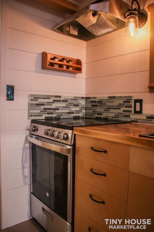 SOLD!! BRAND NEW 24' Tiny House 'The Aspen' by Wilding Woodworks Tiny Homes - Slide 44