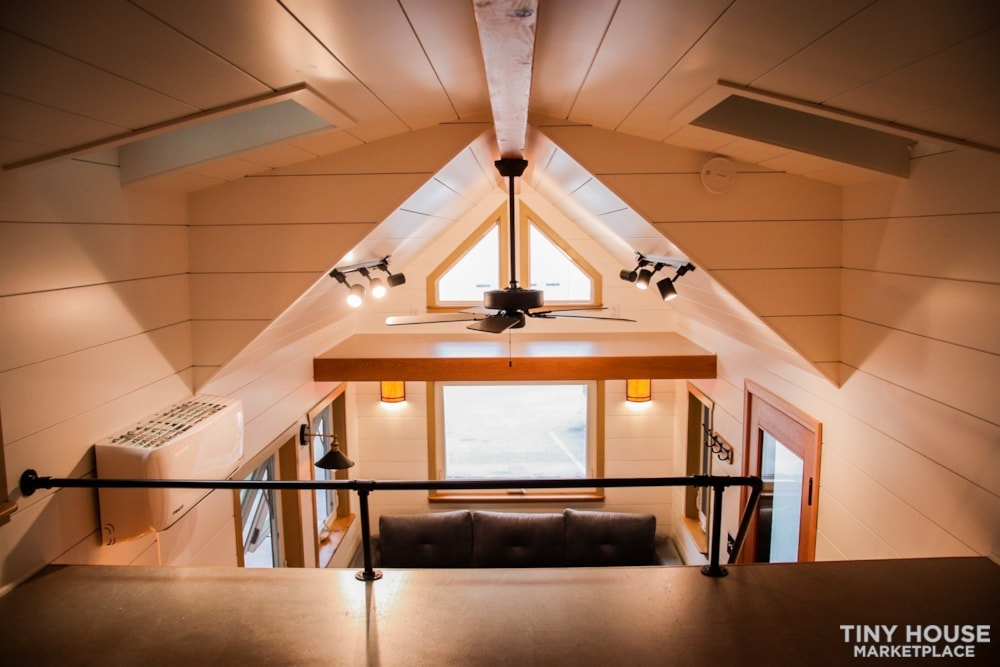 SOLD!! BRAND NEW 24' Tiny House 'The Aspen' by Wilding Woodworks Tiny Homes - Slide 50