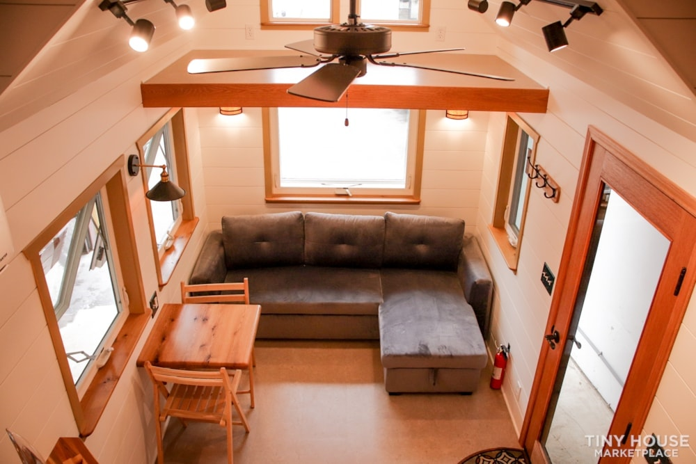 SOLD!! BRAND NEW 24' Tiny House 'The Aspen' by Wilding Woodworks Tiny Homes - Slide 51