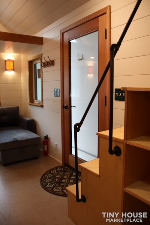 SOLD!! BRAND NEW 24' Tiny House 'The Aspen' by Wilding Woodworks Tiny Homes - Slide 54