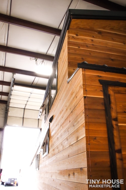 SOLD!! BRAND NEW 24' Tiny House 'The Aspen' by Wilding Woodworks Tiny Homes - Slide 61