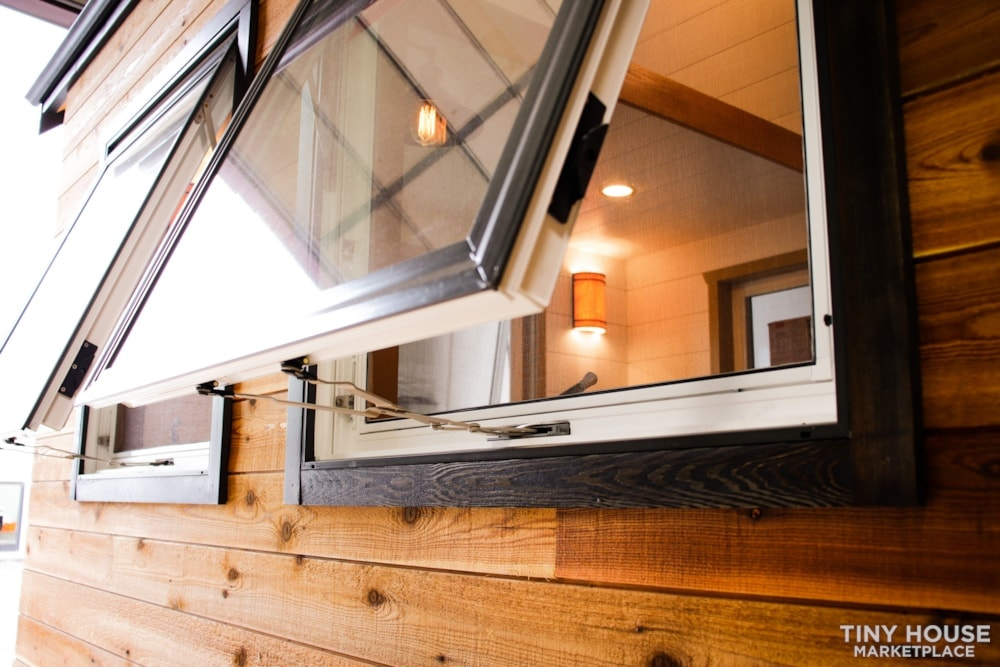 SOLD!! BRAND NEW 24' Tiny House 'The Aspen' by Wilding Woodworks Tiny Homes - Slide 62