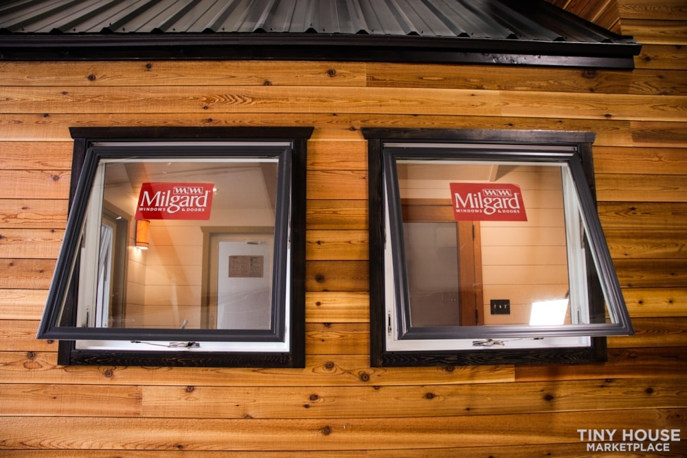 SOLD!! BRAND NEW 24' Tiny House 'The Aspen' by Wilding Woodworks Tiny Homes - Slide 63