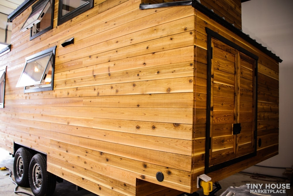 SOLD!! BRAND NEW 24' Tiny House 'The Aspen' by Wilding Woodworks Tiny Homes - Slide 65