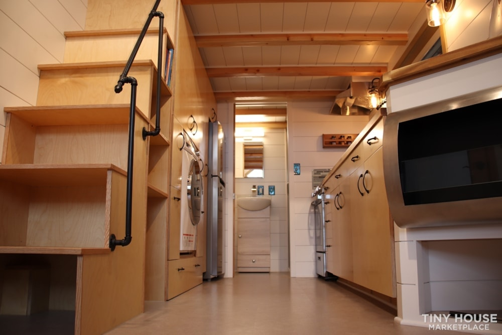 SOLD!! BRAND NEW 24' Tiny House 'The Aspen' by Wilding Woodworks Tiny Homes - Slide 68