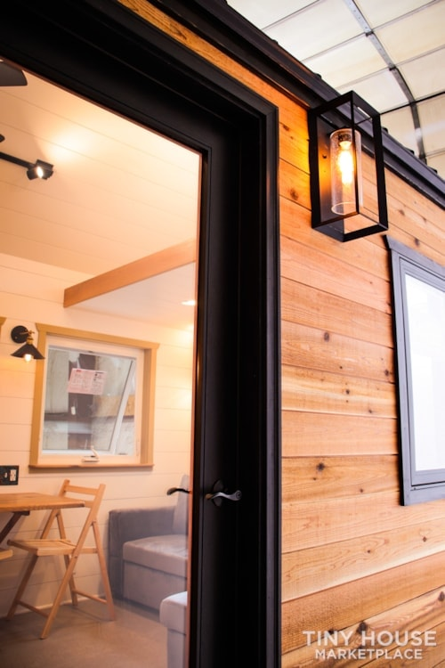 SOLD!! BRAND NEW 24' Tiny House 'The Aspen' by Wilding Woodworks Tiny Homes - Slide 70