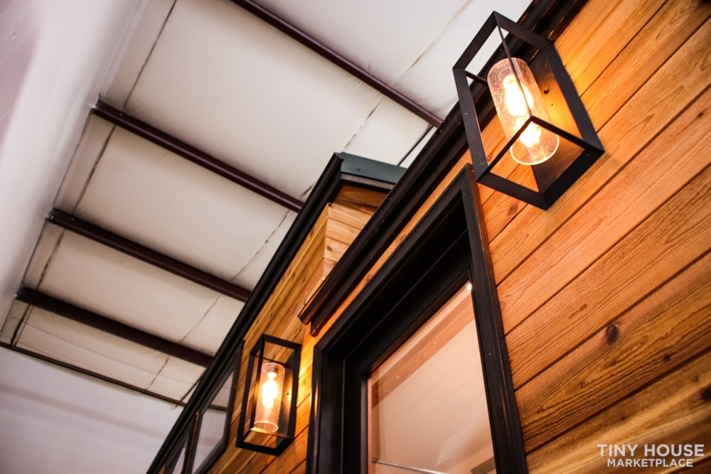 SOLD!! BRAND NEW 24' Tiny House 'The Aspen' by Wilding Woodworks Tiny Homes - Slide 71
