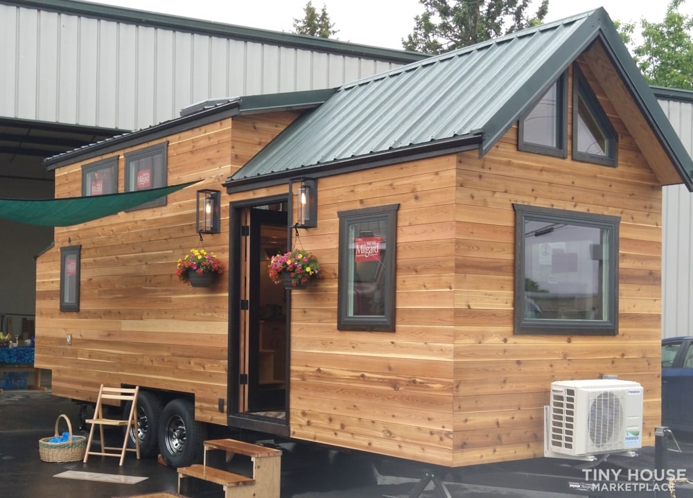 SOLD!! BRAND NEW 24' Tiny House 'The Aspen' by Wilding Woodworks Tiny Homes - Slide 1