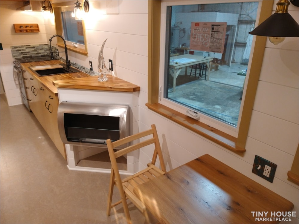 SOLD!! BRAND NEW 24' Tiny House 'The Aspen' by Wilding Woodworks Tiny Homes - Slide 5
