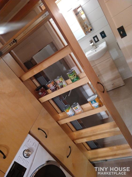 SOLD!! BRAND NEW 24' Tiny House 'The Aspen' by Wilding Woodworks Tiny Homes - Slide 6
