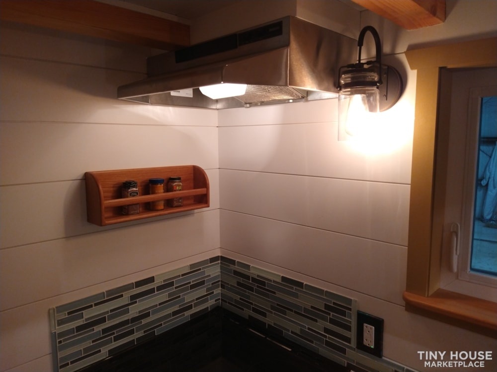 SOLD!! BRAND NEW 24' Tiny House 'The Aspen' by Wilding Woodworks Tiny Homes - Slide 16